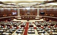 Milli Məclisin növbəti plenar iclasının gündəliyində dəyişiklik olundu