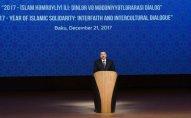Prezident beynəlxalq konfransda - Fotolar (Yenilənib)