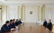 İlham Əliyev Rusiyanın iqtisadi inkişaf nazirini qəbul etdi