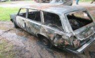 Ağstafada Gəncə sakini öldürüldü, maşını yandırıldı