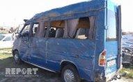 Lənkəranda mikroavtobus aşdı, 10 nəfər yaralandı - YENİLƏNİB