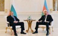 İlham Əliyev Boyko Borisovu qəbul etdi