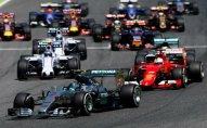 Formula 1-in başlama saatı dəyişdirildi
