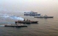 Hindistanda irimiqyaslı hərbi dəniz təlimlərinə start verildi