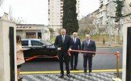 Prezident Bakı Şəhər Statistika İdarəsi binasının açılışında -  FOTOLAR - YENİLƏNİB