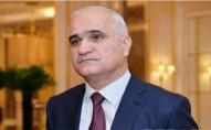 Şahin Mustafayev İrana səfər edəcək