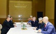 İlham Əliyev Albaniya prezidenti ilə görüşüb  - YENİLƏNİB
