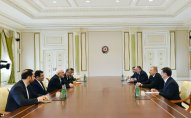 İlham Əliyev İranın XİN başçısını qəbul etdi - YENİLƏNİB