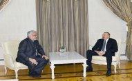 İlham Əliyev Paraqvay Senatının sədrini qəbul edib