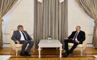 İlham Əliyev Avropa Parlamentinin sabiq vitse-prezidentini qəbul edib