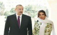 Prezident və xanımı Hacı Cavad məscidinin açılışında  - FOTOLAR(Yenilənib)