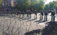 Yerevan küçələrinə tank və başqa zirehli texnikalar yeridildi - FOTOLAR