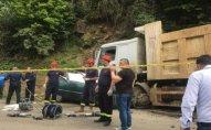 Gürcüstanda ağır yol qəzasında 5 nəfər ölüb