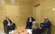 Elmar Məmmədyarov NATO baş katibinin xüsusi nümayəndəsi ilə görüşdü