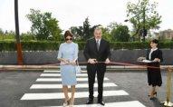 Prezident və xanımı açılışda iştirak edib - YENİLƏNDİ + FOTOLAR