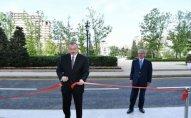 İlham Əliyev YAP-ın yeni inzibati binasının açılışında iştirak edib - Fotolar