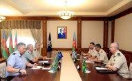 Zakir Həsənov NATO generalları ilə görüşüb – FOTO