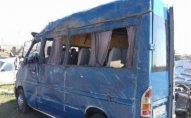 Masallıda mikroavtobusla maşın TOQQUŞDU - 10 nəfər xəsarət aldı