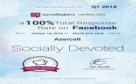 """Azercell yenidən """"Socially Devoted"""" sertifikatına layiq görüldü"""