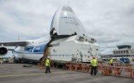 """""""Azerspace-2"""" peyki orbitə buraxılması üçün Kuru kosmodromuna gətirildı"""