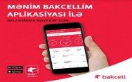 """""""Mənim Bakcellim"""": mobil nömrənizin balansını smartfondan idarə edin! - FOTO"""