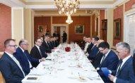 Azərbaycan Prezidenti Xorvatiyanın Baş naziri ilə işçi nahar edib