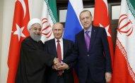 Tehranda İran, Türkiyə və Rusiya prezidentlərinin zirvə görüşü başlayıb