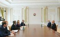 Prezident Çexiyanın sənaye və ticarət nazirini qəbul edib – YENİLƏNİB