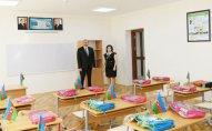 Prezident İlham Əliyev 295 nömrəli tam orta məktəbdə olub – YENİLƏNİB – FOTO