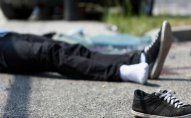 Bakıda avtobus piyadanı vurub öldürdü
