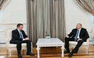 Prezident İlham Əliyev Beynəlxalq Paralimpiya Federasiyasının prezidentini qəbul edib
