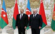 Aleksandr Lukaşenko Azərbaycan Prezidentini təbrik edib