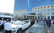 """""""Hilton Baku"""" hotelində yanğın olub – FOTO"""