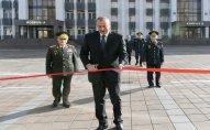 Prezident Polis Akademiyasında açılışda – FOTOLAR
