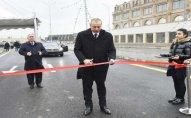 Prezident İlham Əliyev yeni yolun açılışında iştirak edib – FOTOLAR/YENİLƏNİB