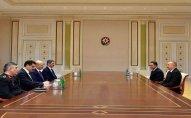 Prezident İlham Əliyev Türkiyənin daxili işlər nazirini qəbul etdi