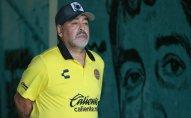 Maradona Meksika komandasından yoxa çıxıb