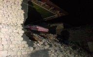 Zəlzələ nəticəsində Şamaxıda dağıntı olub, 3 nəfər xəsarət alıb - FOTO