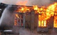 Hacıqabul sakini öz evini yandırdı