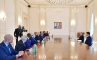 Prezident ABŞ Etnik Anlaşma Fondunun prezidentini qəbul edib - YENİLƏNİB