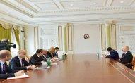 Prezident Avropa Yenidənqurma və İnkişaf Bankının prezidentini qəbul edib