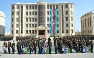 Daxili Qoşunların iki hərbi qulluqçusuna general-mayor rütbəsi verildi