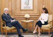 """Mehriban Əliyeva """"Rothschild Global Financial Advisory"""" şirkətinin rəhbəri ilə görüşüb"""
