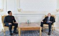 Prezident İlham Əliyev Hindistanın yeni səfirinin etimadnaməsini qəbul edib