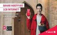 Bakcell abunəçilərinə bayram sovqatı – PULSUZ 4G Internet