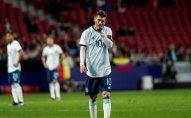 Argentina Messinin qayıdışından sonra məğlub olub