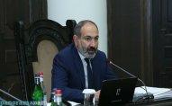 Ermənistan baş nazirinin reytinqi azalmaqda davam edir