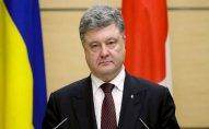 Petro Poroşenkoya Ukraynanı tərk etmək qadağan olunub