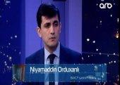 """Niyaməddin Orduxanlı ARB TV-nin """"Günə Baxış"""" verlişinin qonağı olub – VİDEO"""