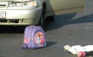 Xocahəsən yolunda 10 yaşlı qızı maşın vurub
